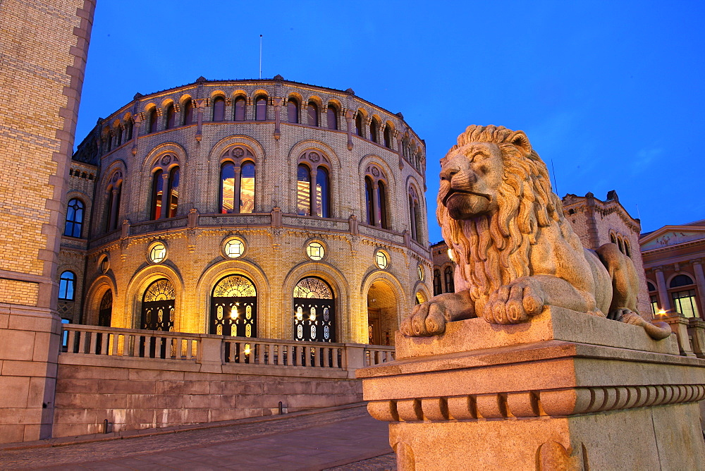 Parlament, Oslo, Norway