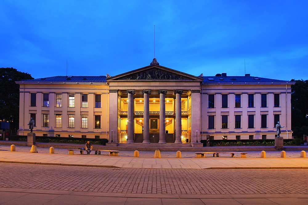 The University, Oslo, Norway, Scandinavia, Europe