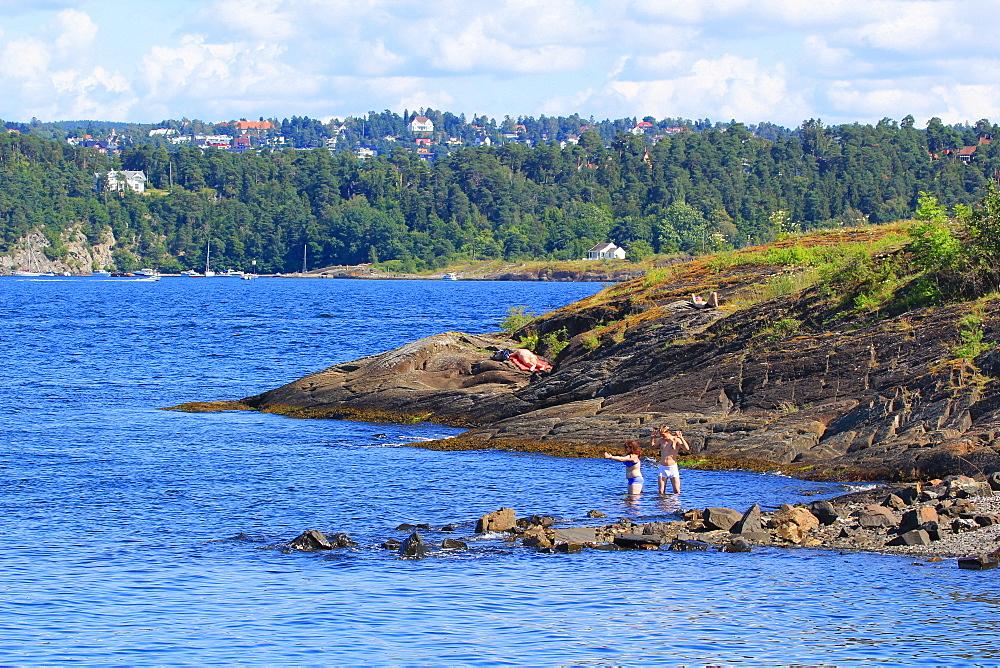 LAngoiene Island Beach, Oslo, Norway