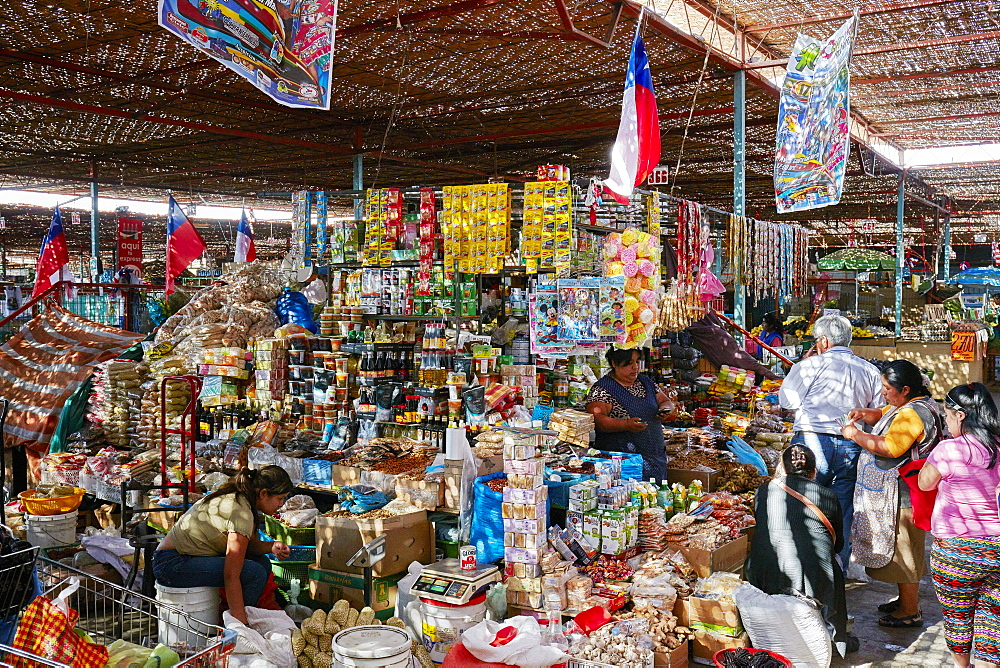 Fruit and spice market in Arica, Chile, South America - 1294-121
