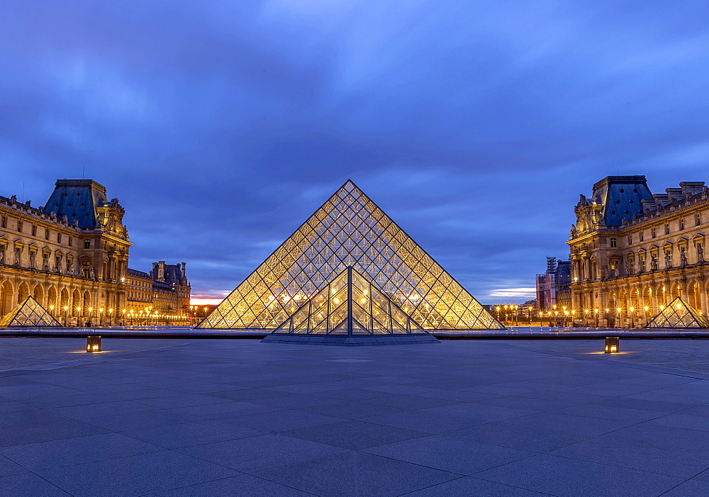 The Louvre Museum, Paris, France, Europe