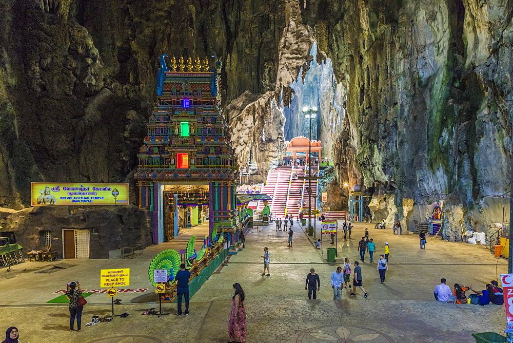 Cave temples at the Batu Caves, Kuala Lumpur, Malaysia, Southeast Asia, Asia - 1297-1034