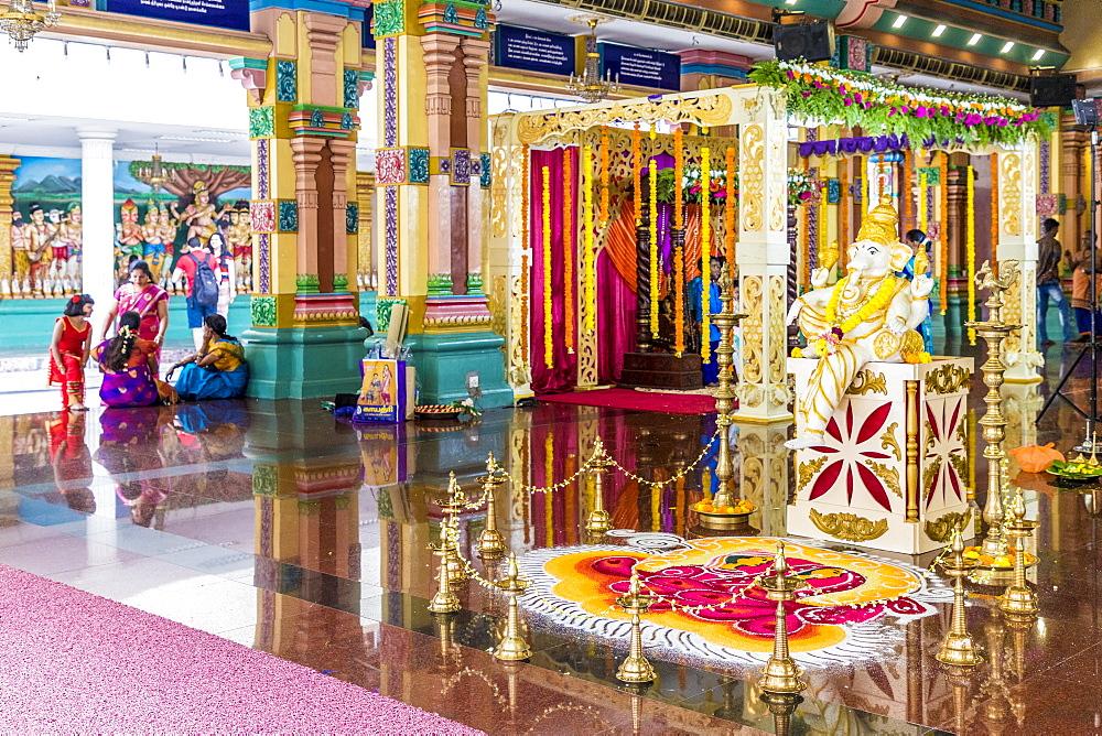 Sri Mahamariamman Temple in Kuala Lumpur, Malaysia, Southeast Asia, Asia