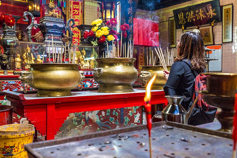 Sin Sze Si Ya Temple in Kuala Lumpur, Malaysia, Southeast Asia, Asia - 1297-1070