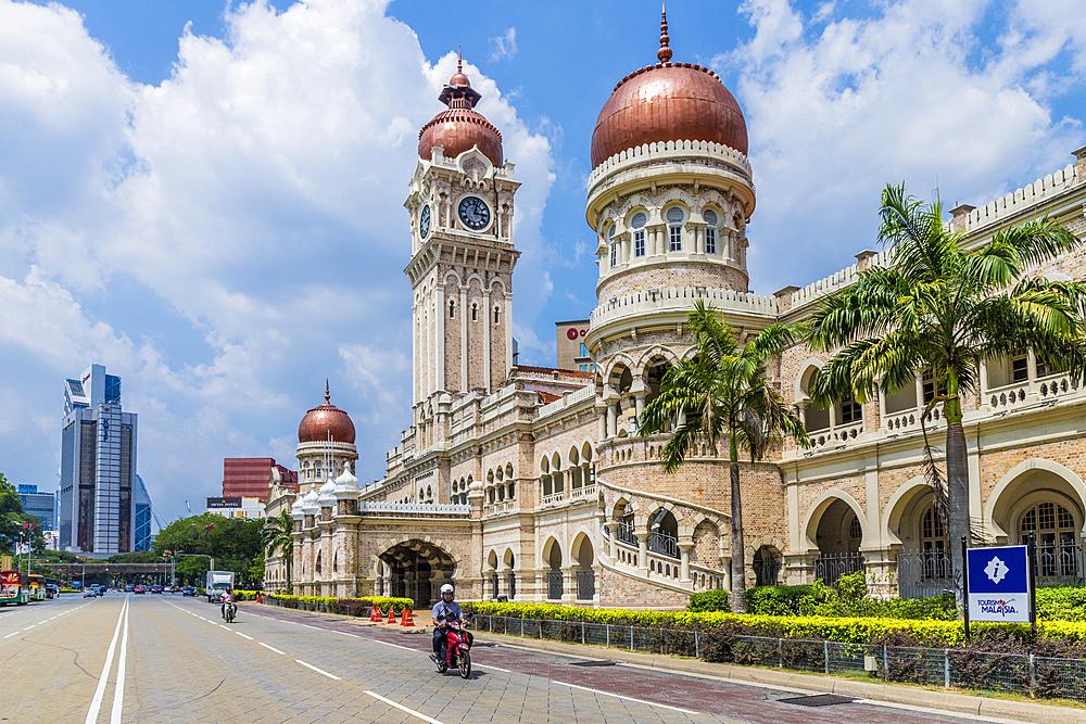 Sultan Abdul Samad Building in Kuala Lumpur, Malaysia, Southeast Asia, Asia - 1297-1071