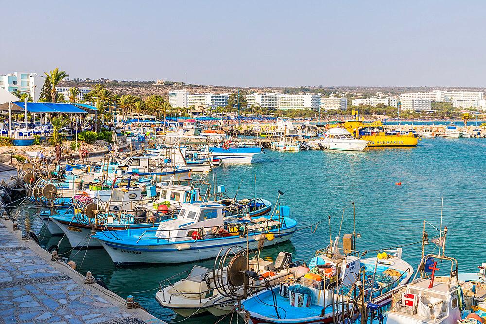 Ayia Napa Harbour Limanaki in Agia Napa in Cyprus, Europe - 1297-1094