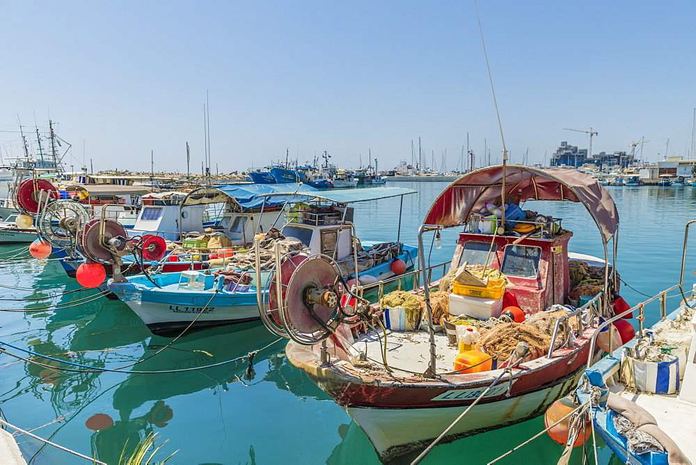 Limassol Marina harbour in Limassol, Cyprus, Mediterranean, Europe - 1297-1099
