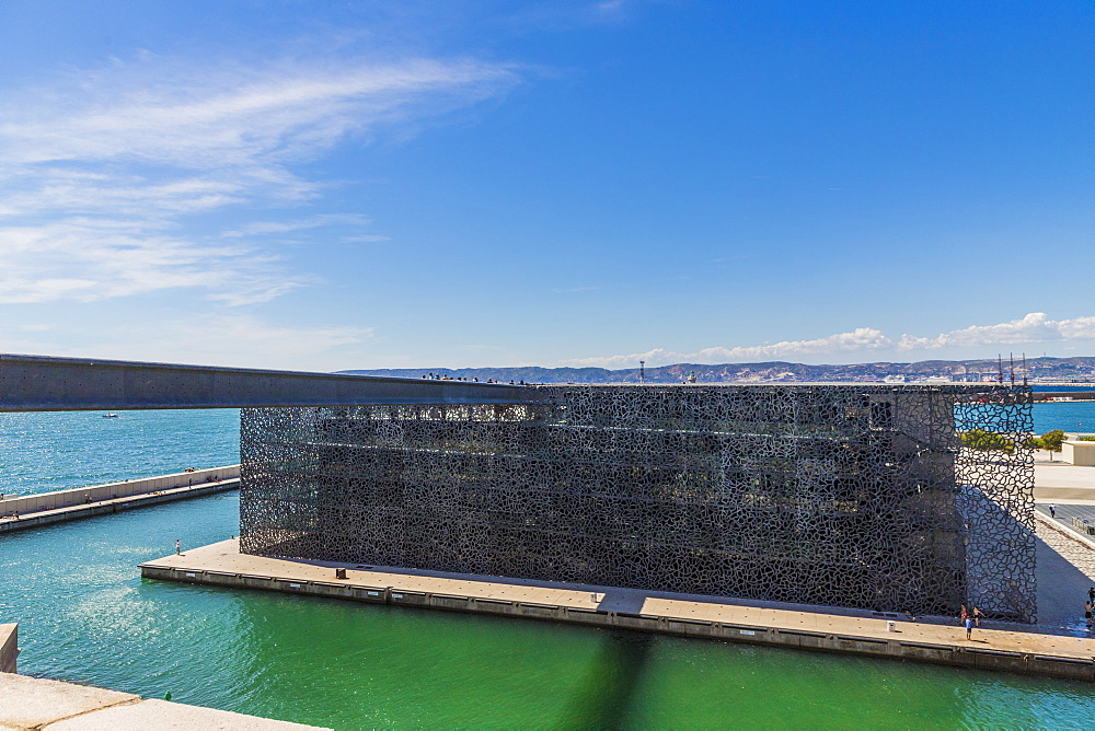 Museum of European and Mediterranean Civilisation, Marseille, Bouches du Rhone, Provence, France, Mediterranean, Europe