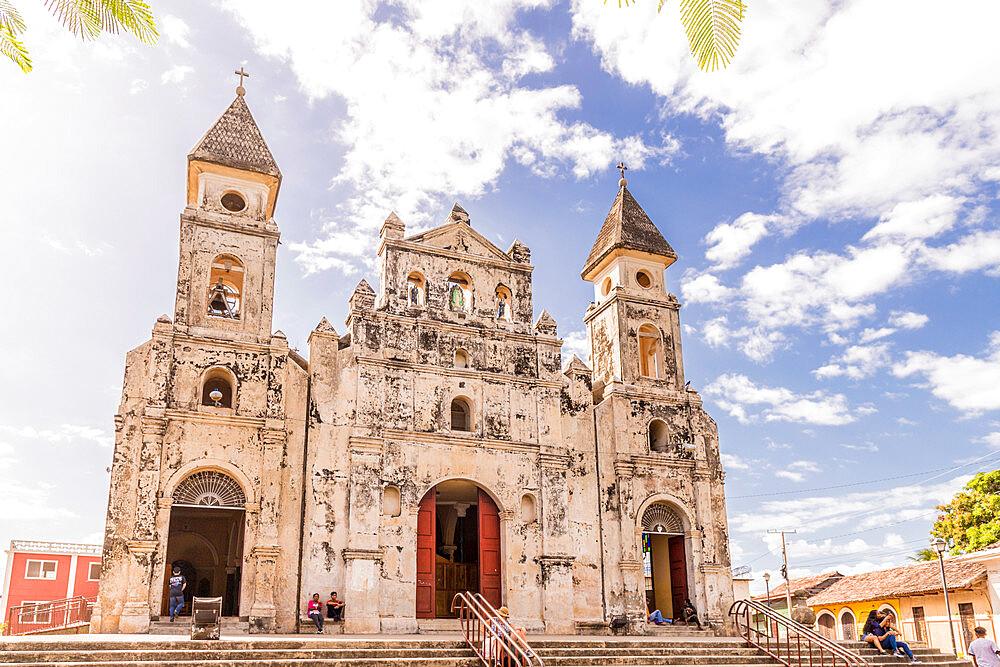 Guadalupe Church in Granada, Nicaragua, Central America
