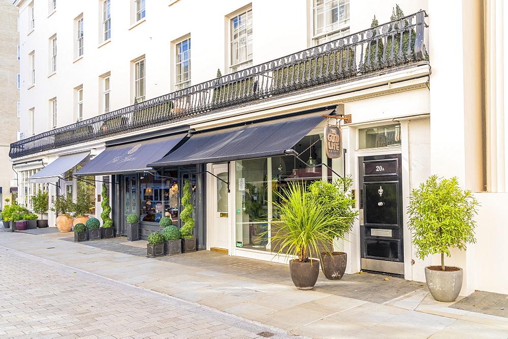 Motcomb street in Belgravia, London, Uk, Europe - 1297-1188