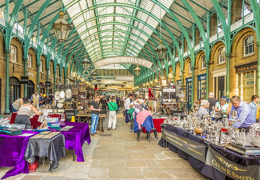 Covent Garden Market in Covent Garden, London, England, United Kingdom, Europe