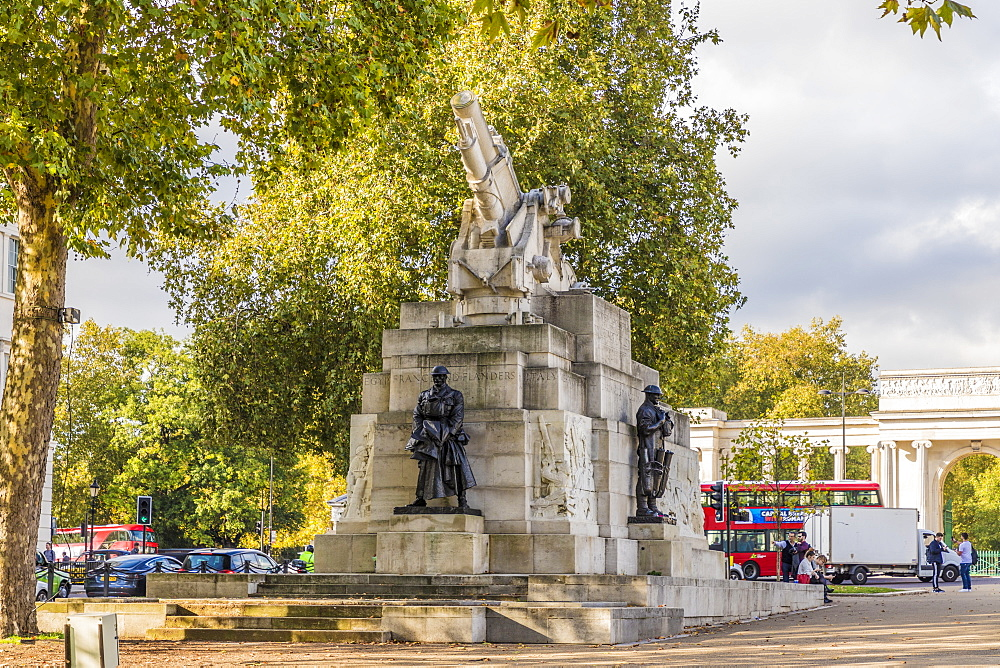 The Royal Artillery Memorial on Hyde Park Corner, London, England, United Kingdom, Europe