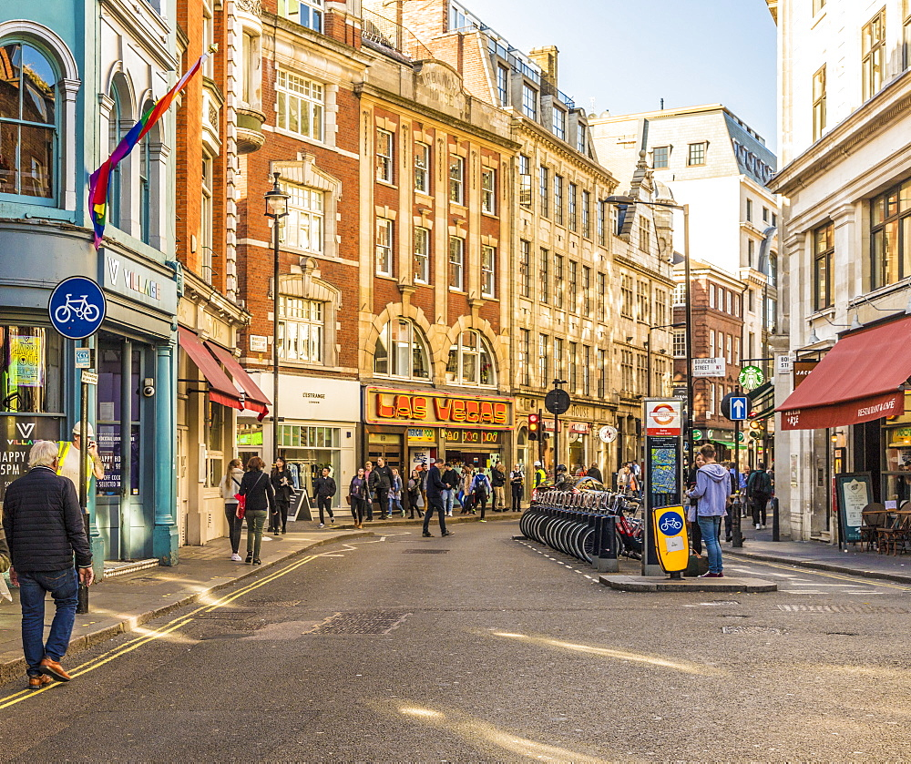 Wardour Street in Soho, London, England, United Kingdom, Europe - 1297-430