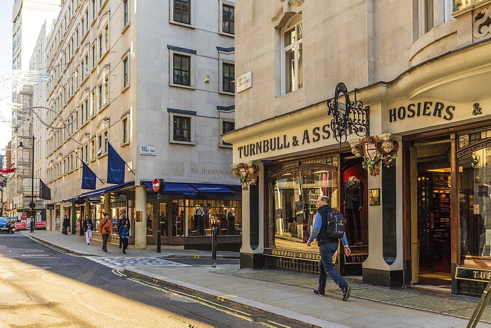 Jermyn Street in St. James's, London, England, United Kingdom, Europe - 1297-432