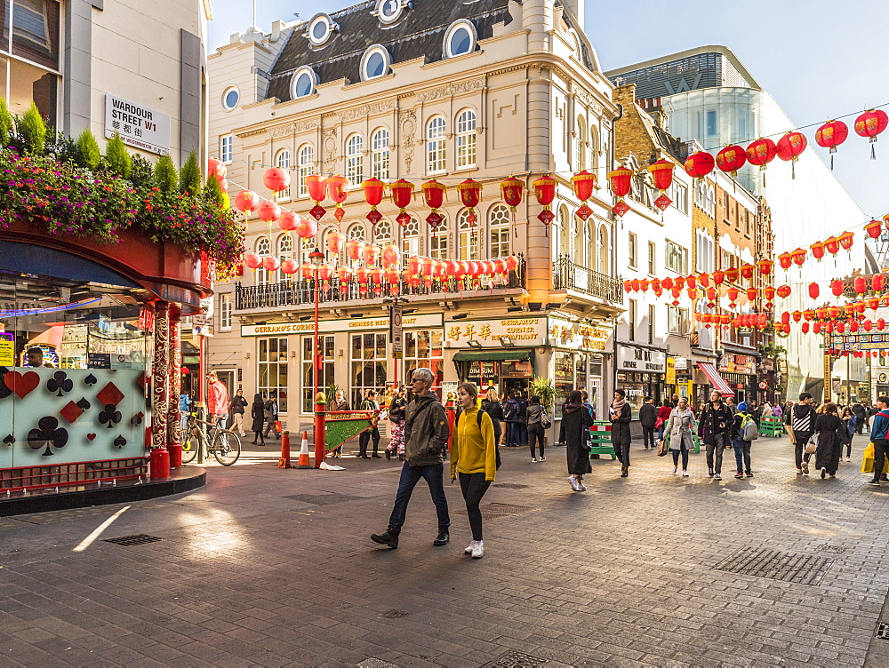 Chinatown, Soho, London, England, United Kingdom, Europe - 1297-435