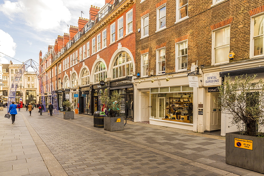 South Molton Street in Mayfair, London, England, United Kingdom , Europe. - 1297-468