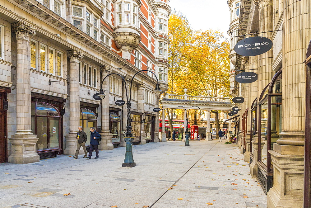 Sicilian Avenue in Holborn, London, England, United Kingdom, Europe