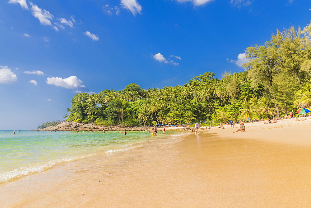 Surin beach in Phuket, Thailand, Southeast Asia, Asia