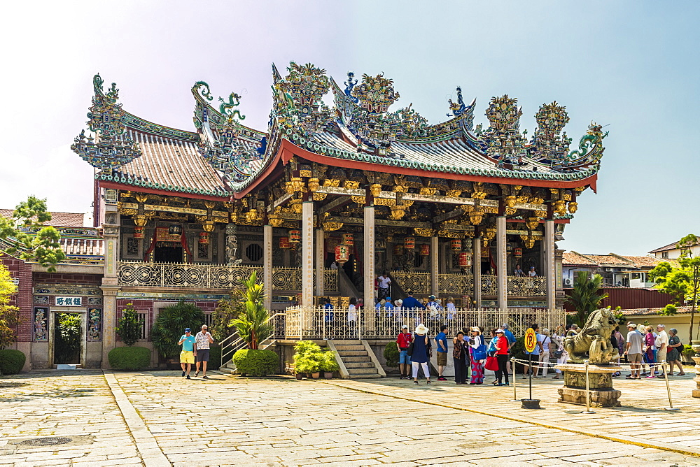 The Khoo Kongsi clan temple, George Town, UNESCO World Heritage Site, Penang Island, Malaysia, Southeast Asia, Asia