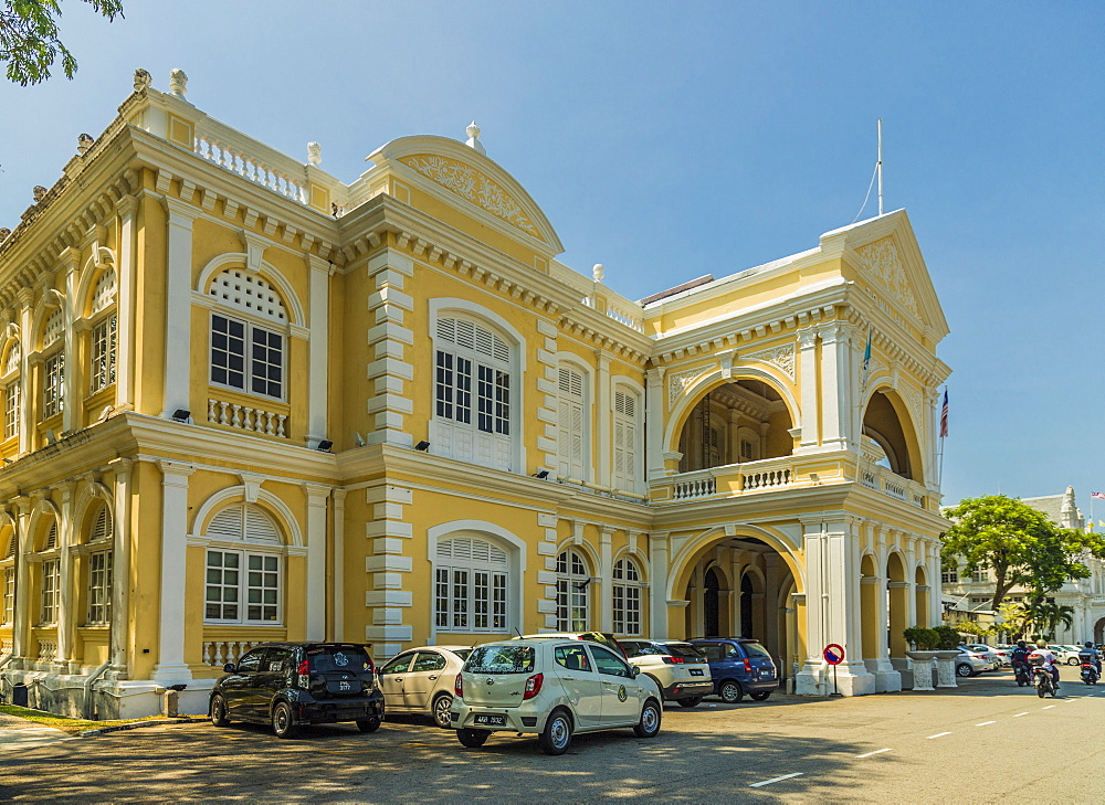 Penang Town Hall, George Town, Penang Island, Malaysia, Southeast Asia, Asia