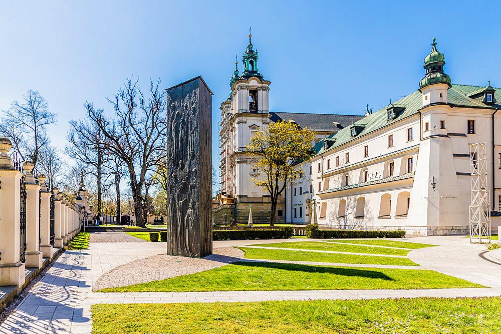 Skalka Church and the Pauline Monastery in Krakow, Poland, Europe.