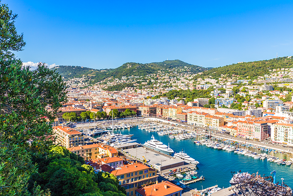 Port Lympia, Nice, Alpes Maritimes, Cote d'Azur, Provence, France, Europe