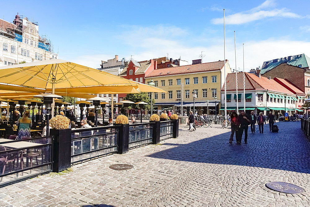 Lilla Torg or the small square in the old city - 1300-83