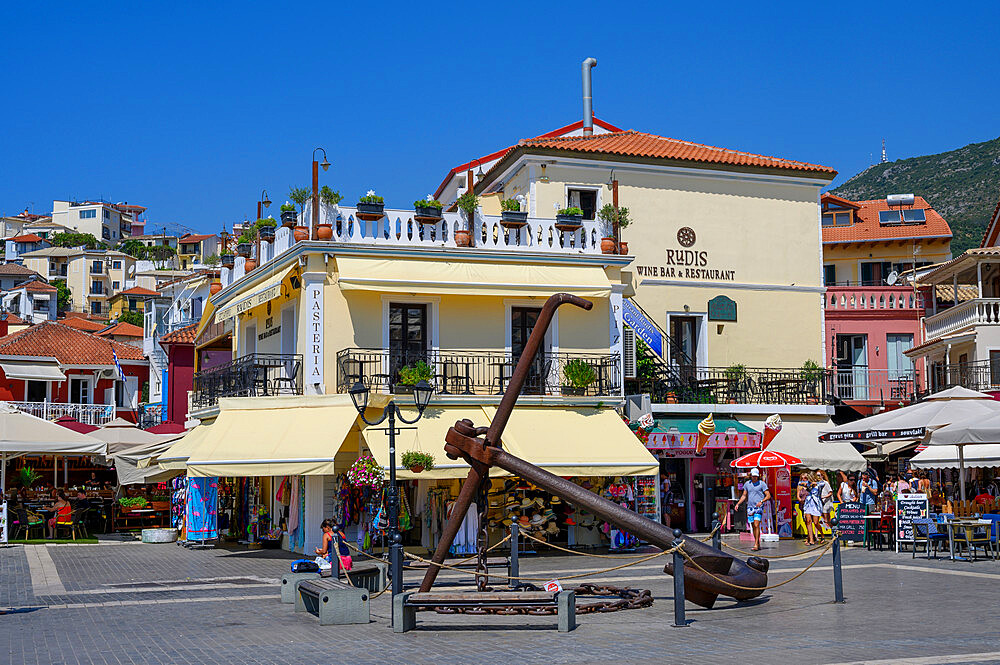 The town of Parga in summer, Parga, Preveza, Greece - 1306-535