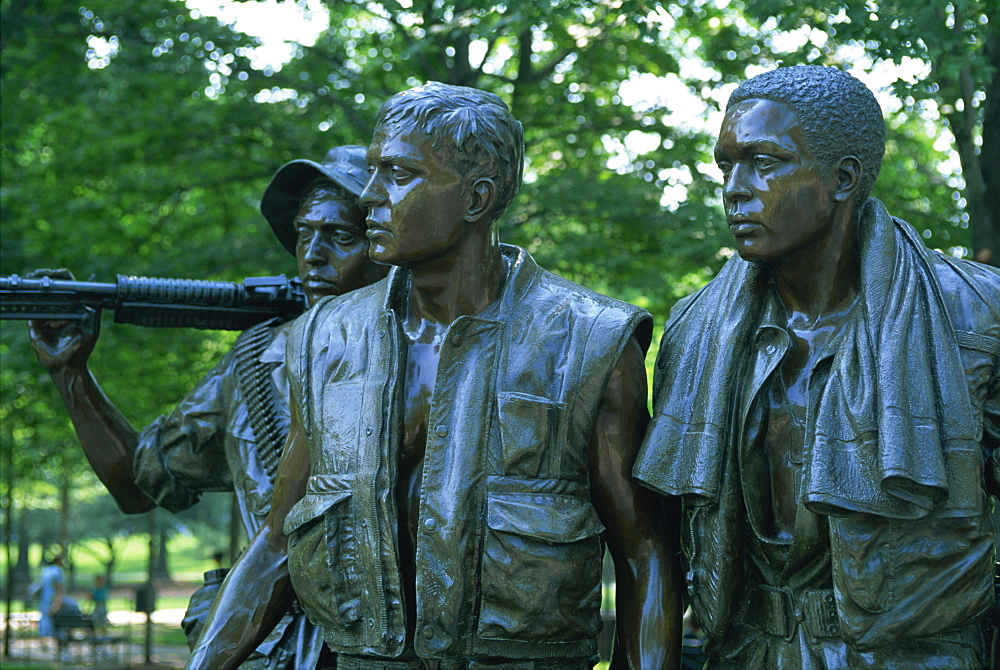 Vietnam Veterans Memorial, Washington D.C. United States of America, North America - 132-226