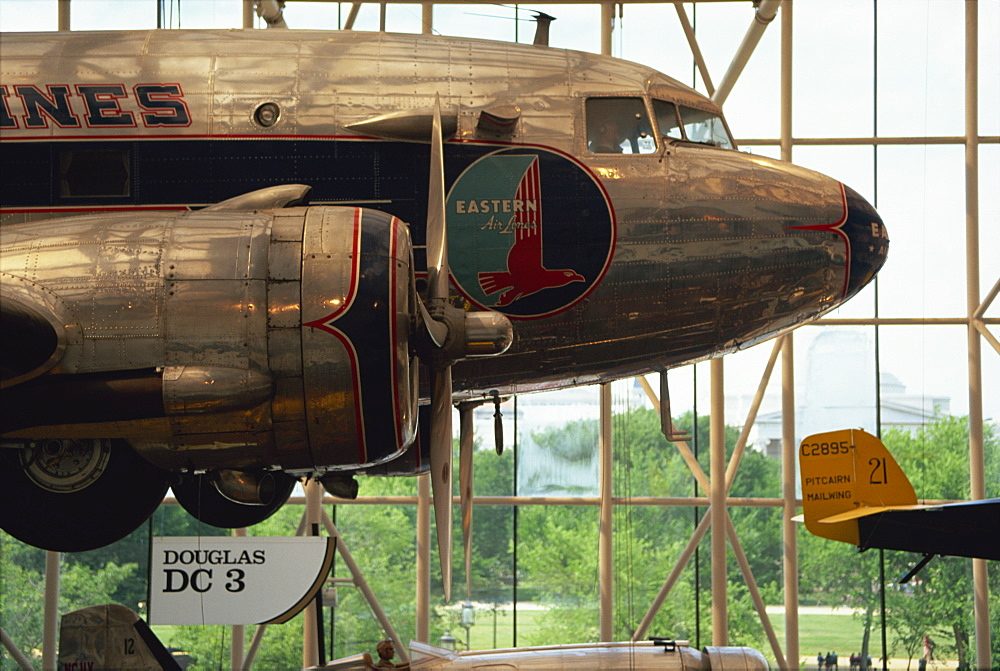 National Air and Space Museum, the world's most visited museum, Washington D.C., United States of America, North America - 132-370