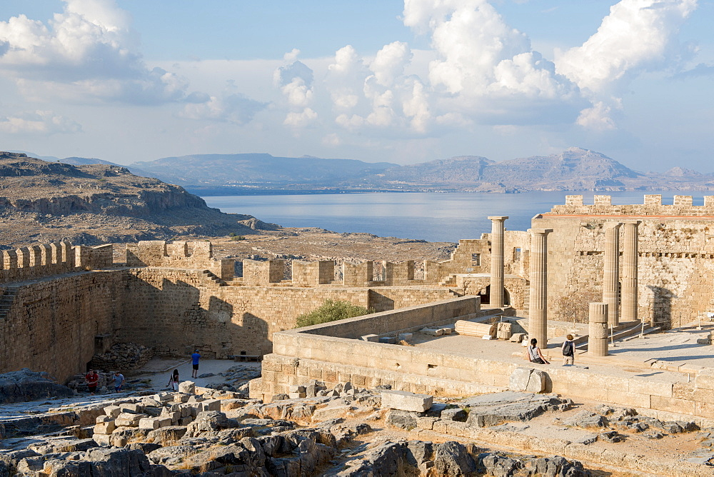 Acropolis of Lindos, Rhodes, Greece - 1331-105