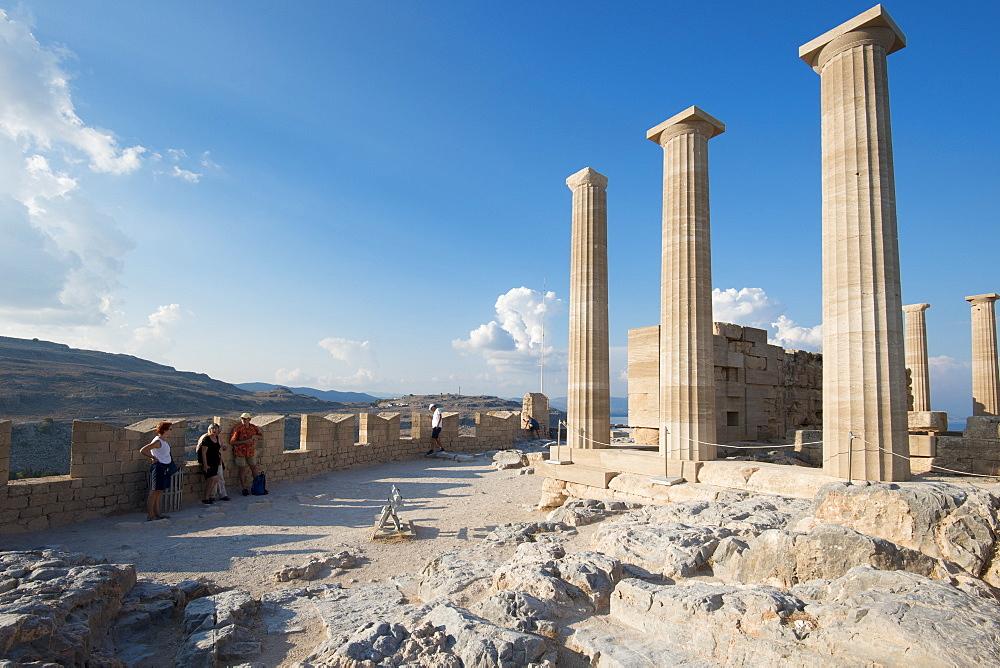 Acropolis of Lindos, Rhodes, Greece - 1331-107