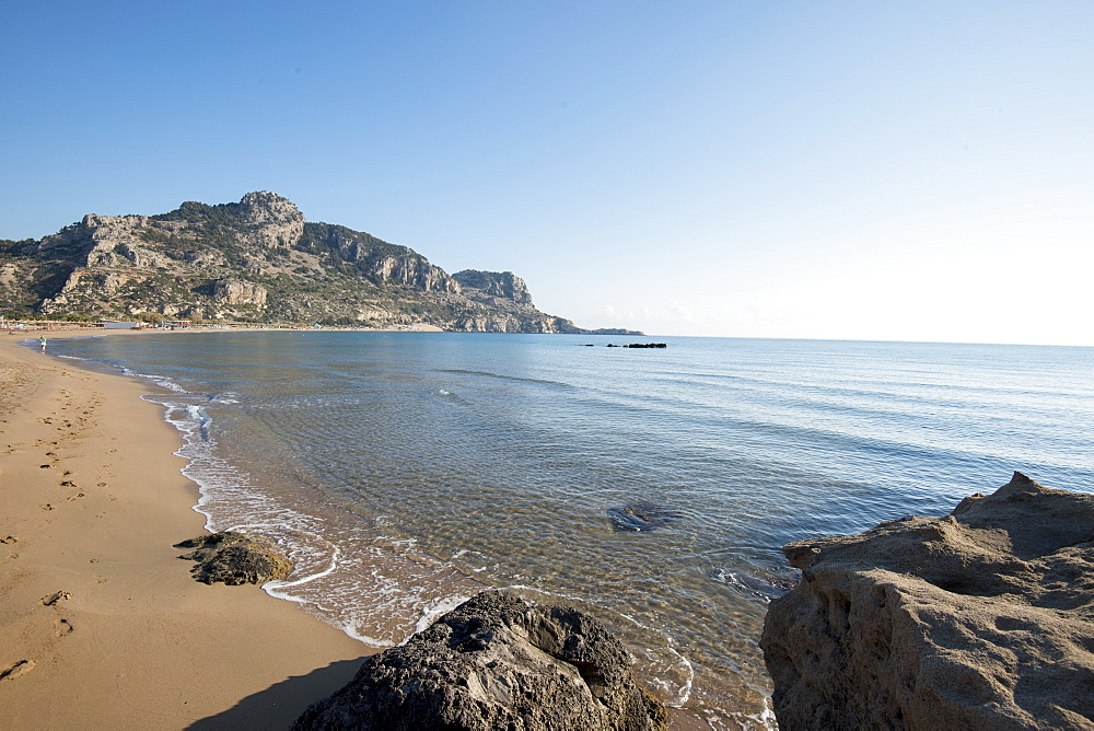 Tsambika Beach, Rhodes, Greece