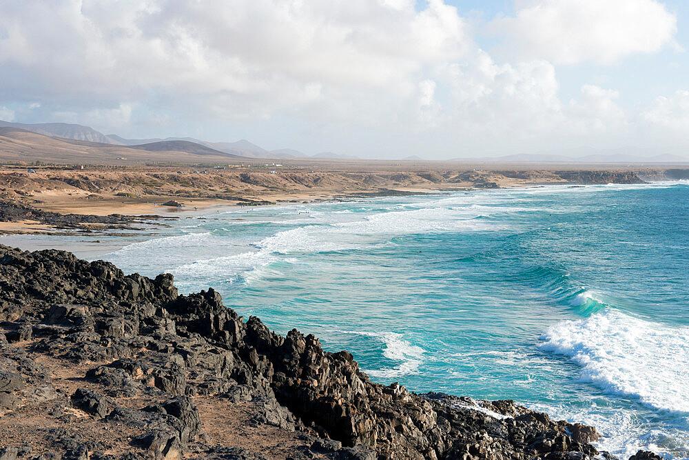 El Cotillo Beach, Fuerteventura, Canary Islands, Spain, Atlantic, Europe - 1331-34