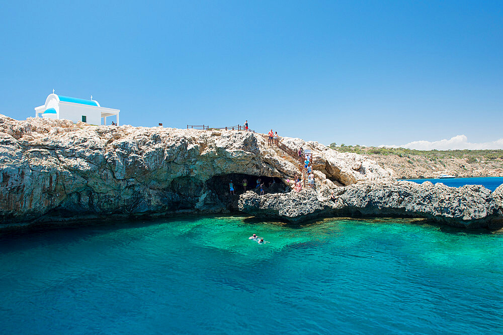 Cape Greco, Protaras, Cyprus, Mediterranean, Europe