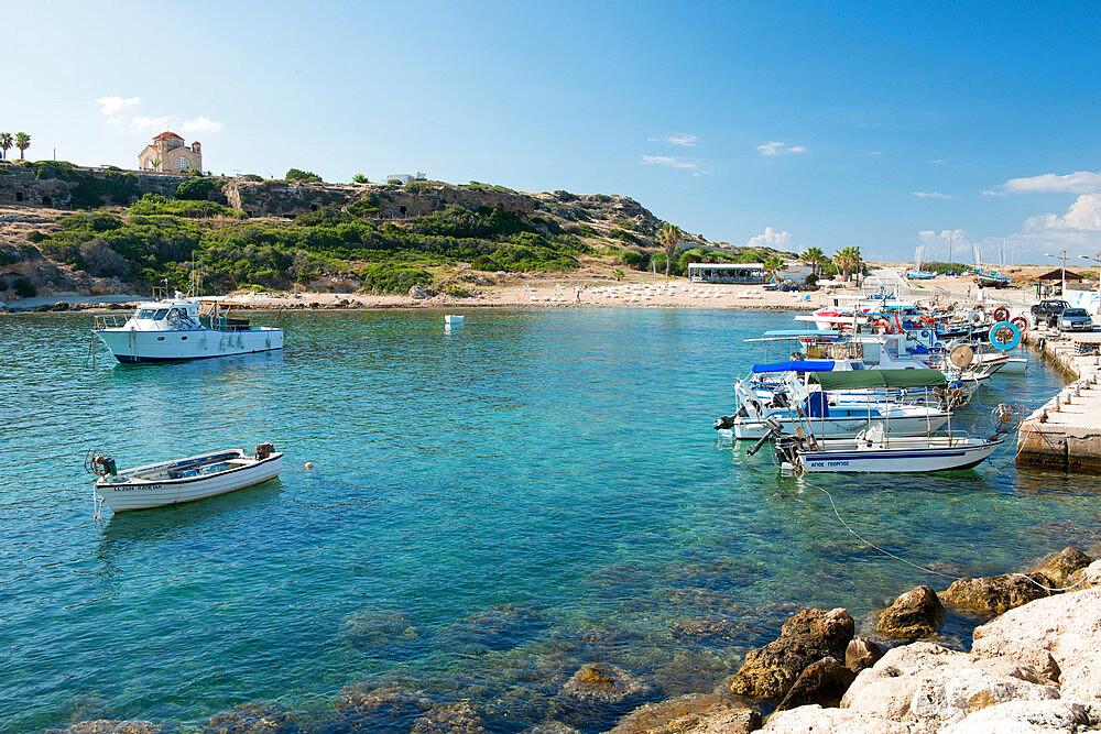 St. George Beach, Paphos, Cyprus, Mediterranean, Europe - 1331-57