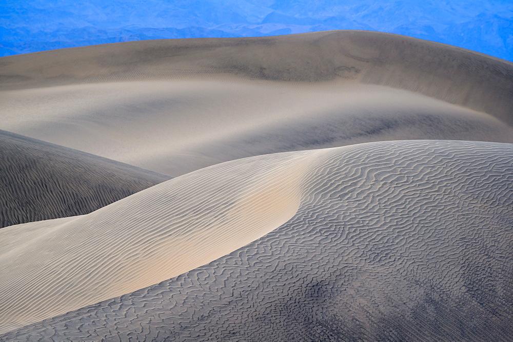 Sand dunes in the Sahara Desert, Merzouga, Morocco, North Africa, Africa - 1332-9