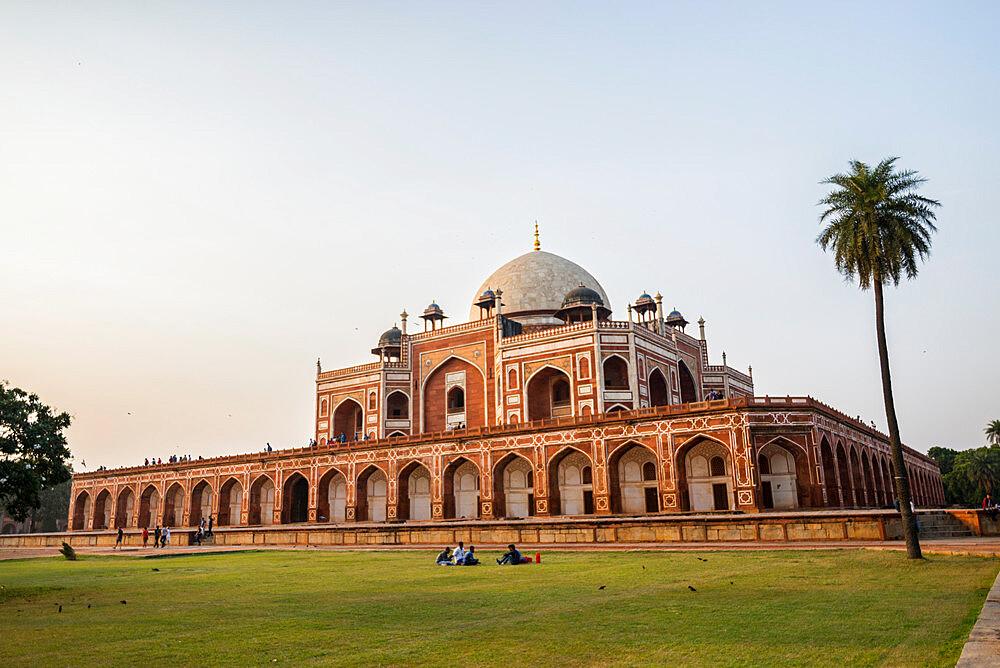 Humayun's Tomb, UNESCO World Heritage Site, New Delhi, India, Asia - 1341-11