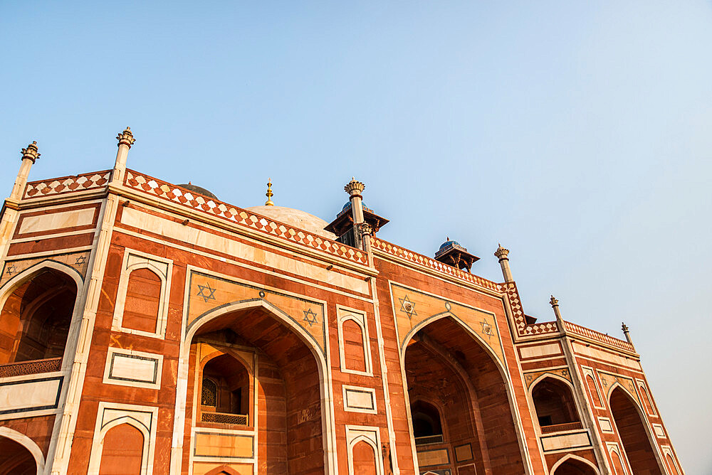 Humayun's Tomb, UNESCO World Heritage Site, New Delhi, India, Asia - 1341-13