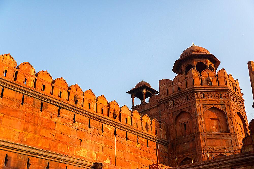 Red Fort, UNESCO World Heritage Site, Delhi, India, Asia - 1341-36