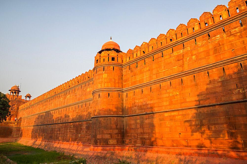 Red Fort, UNESCO World Heritage Site, Delhi, India, Asia - 1341-41