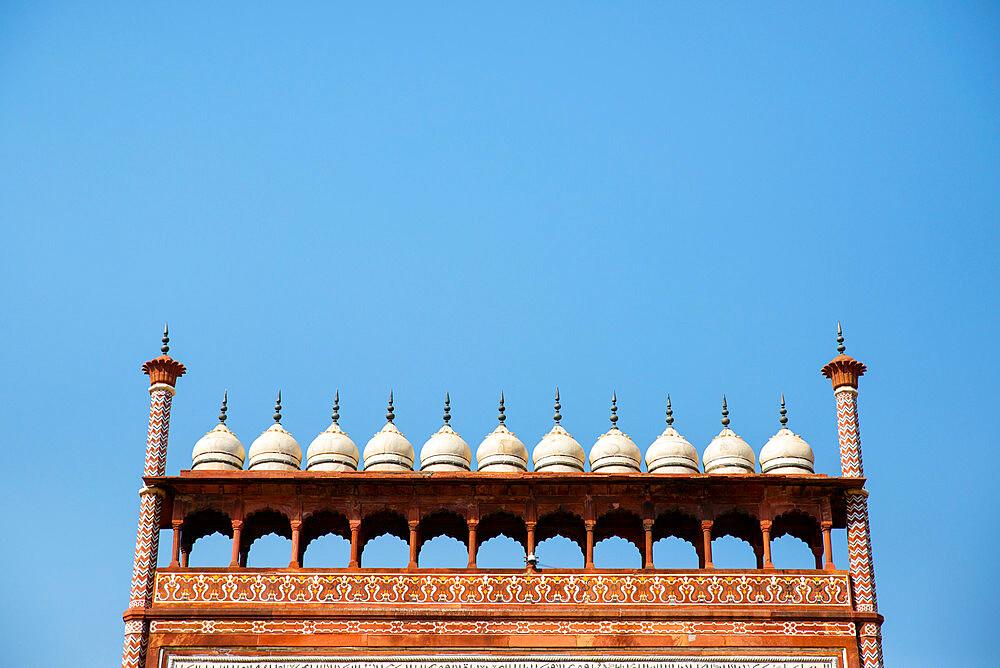 Royal Gate, Taj Mahal, UNESCO World Heritage Site, Agra, Uttar Pradesh, India, Asia - 1341-45