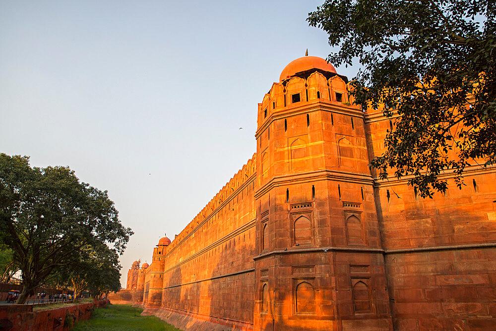 Red Fort, UNESCO World Heritage Site, Delhi, India, Asia - 1341-47
