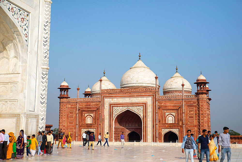 Taj Mahal, UNESCO World Heritage Site, Agra, Uttar Pradesh, India, Asia - 1341-49