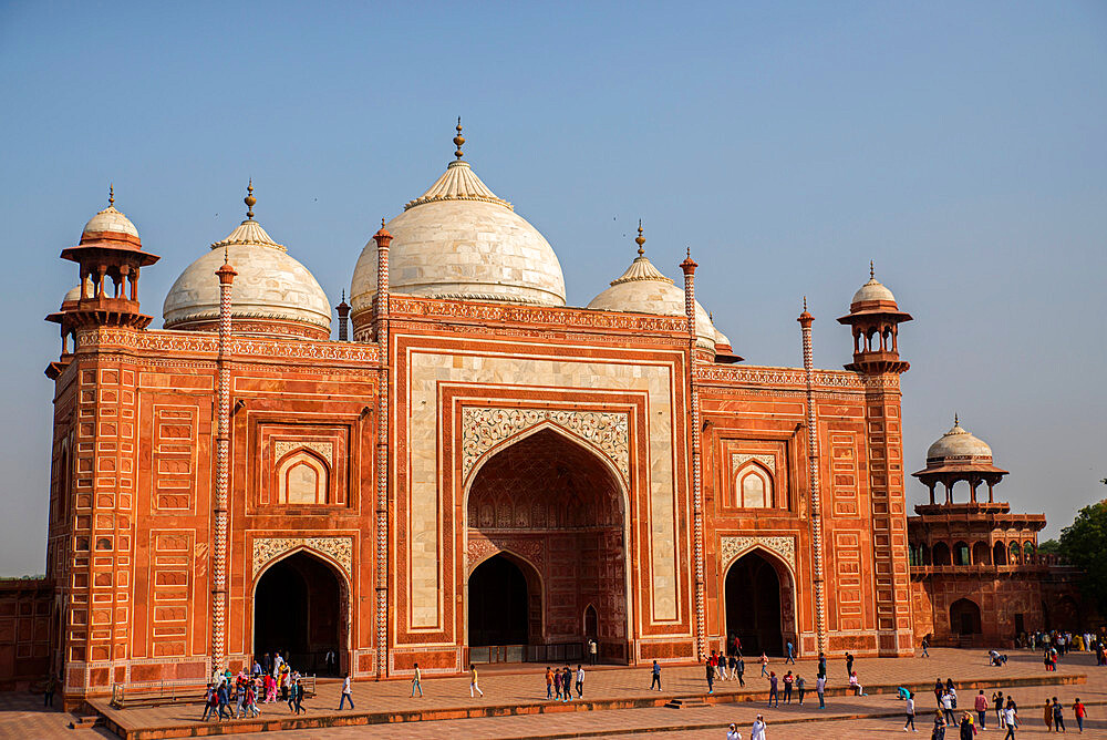 Taj Mahal, UNESCO World Heritage Site, Agra, Uttar Pradesh, India, Asia - 1341-52