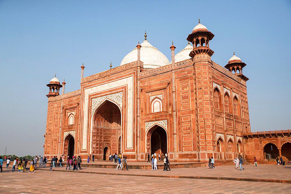 Taj Mahal, UNESCO World Heritage Site, Agra, Uttar Pradesh, India, Asia - 1341-59