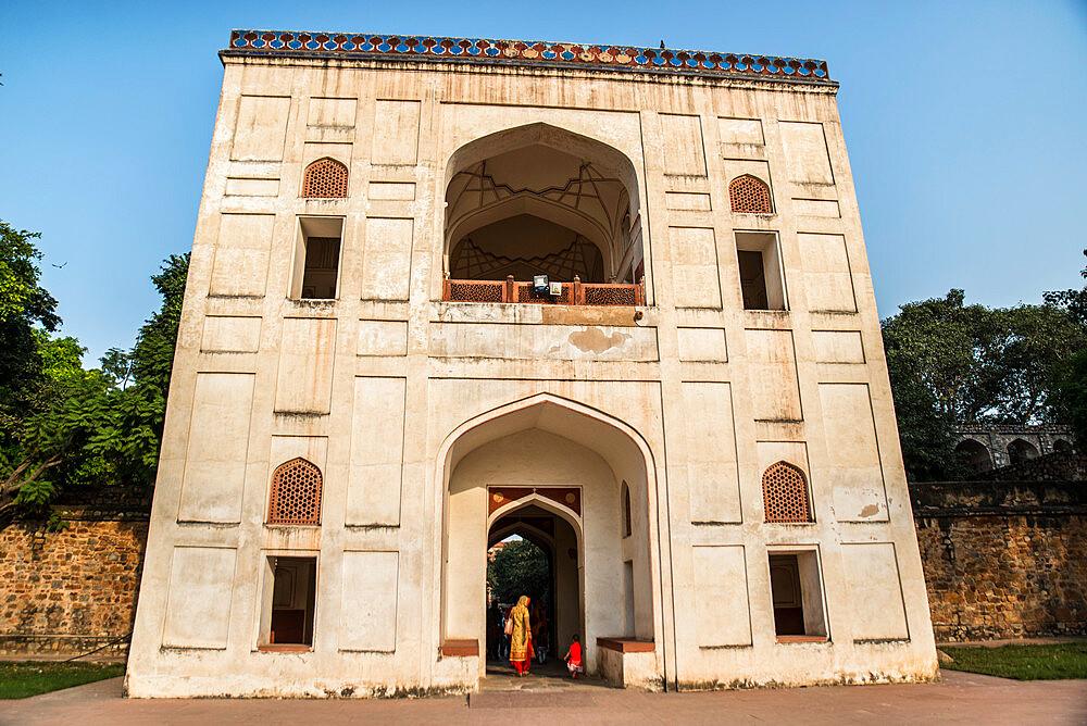 Humayun's Tomb, UNESCO World Heritage Site, New Delhi, India, Asia - 1341-6