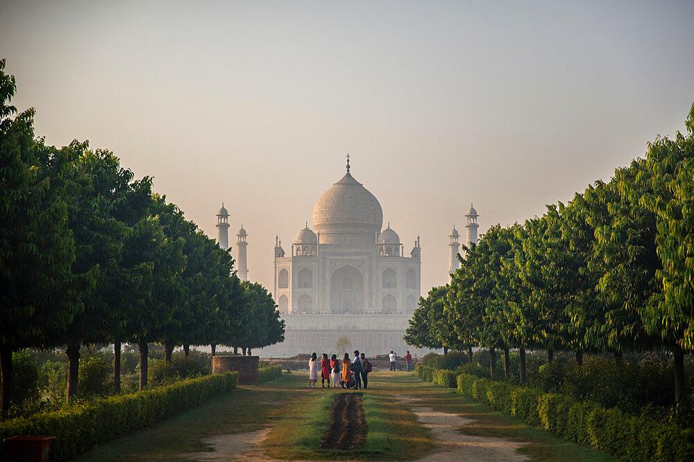 Taj Mahal, UNESCO World Heritage Site, Agra, Uttar Pradesh, India, Asia - 1341-65