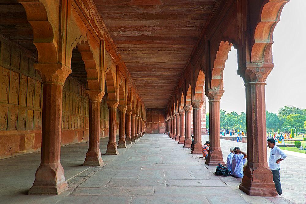 Taj Mahal, UNESCO World Heritage Site, Agra, Uttar Pradesh, India, Asia - 1341-67