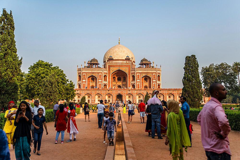 Humayun's Tomb, UNESCO World Heritage Site, New Delhi, India, Asia - 1341-7